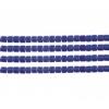 Delica 10/0 Rd Cobalt Blue Opaque Aurora Borealis